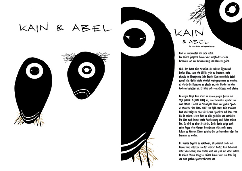 Kain Abel | The saturn version | Benjamin Petersen