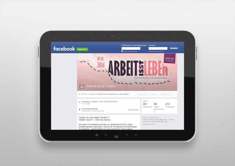Facebookauftritt | Arbeit is(s)t Leben | Der Konflikt geht in die nächste Runde