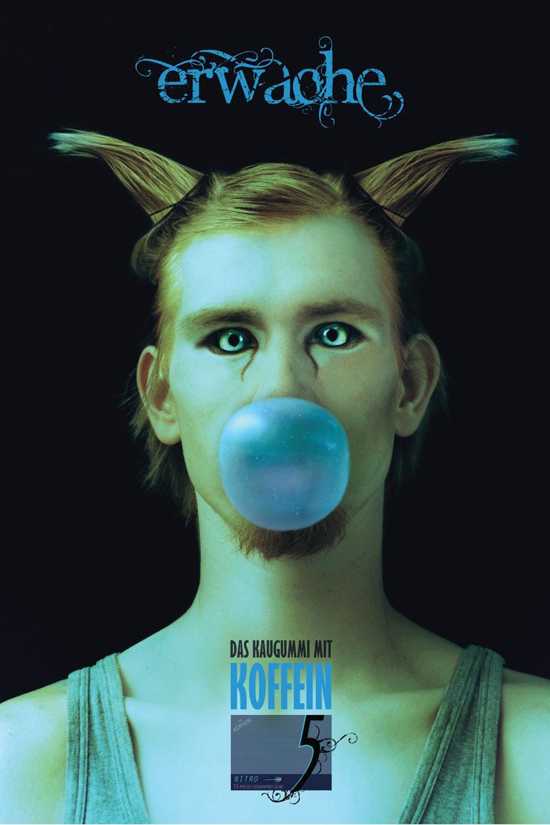 Poster | Motiv Katze | Erwache von Benjamin Petersen