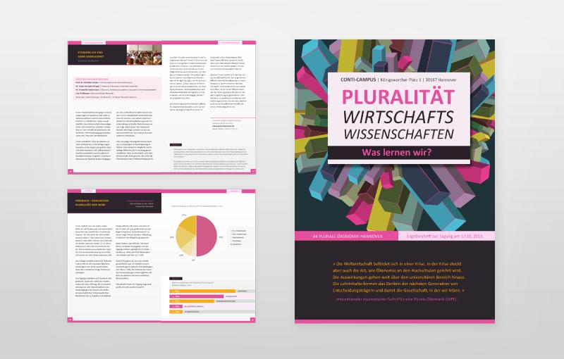 Ergebnisheft 2015 | Pluralität der WIWI | Plurale Ökonomik Hannover