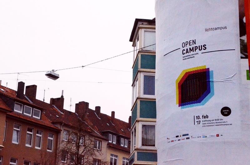 Plakat | OPEN CAMPUS | Lichtcampus 2017