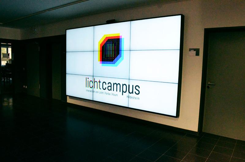 Logo + Animationen für den Mediascreen | LICHTCAMPUS 2017