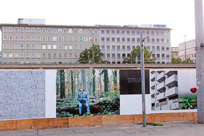 IM INNEREN DER STADT | Kunst im öffentlichen Raum, Bremen ©Bettina Bach