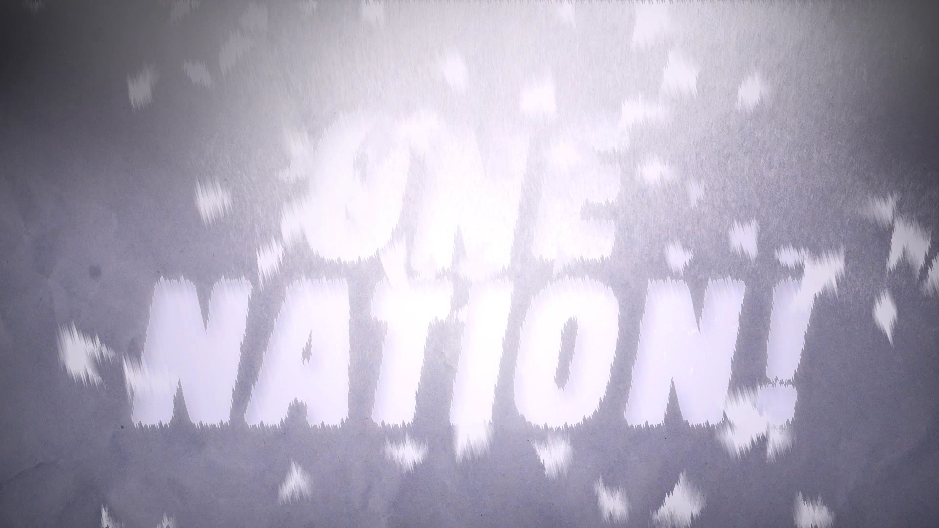 Animationen für das Musikvideo ONE NATION! von Simón Serra