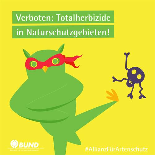 Sharepic ALLIANZ FÜR ARTENSCHUTZ | BUND e.V.