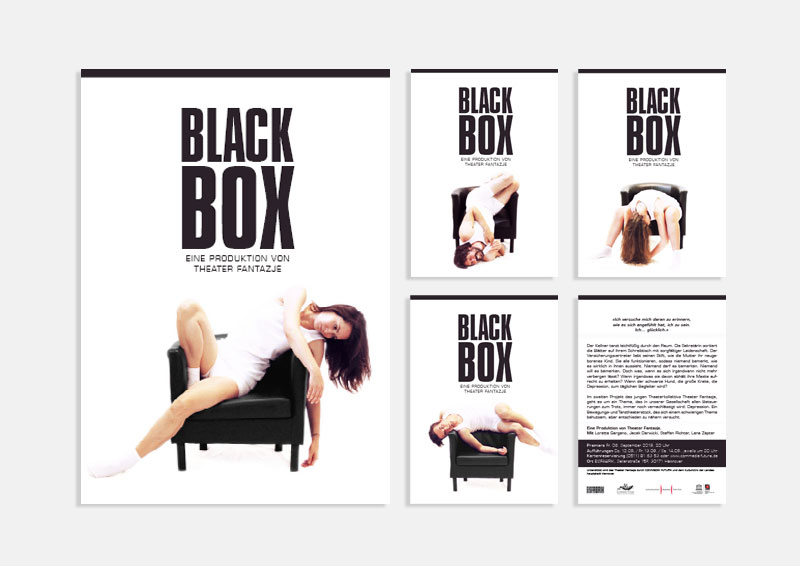 Flyer BLACKBOX | Theater Fantazje