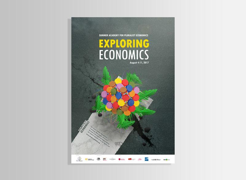 Poster SUMMER ACADEMY OF PLURALIST ECONOMICS 2017 | Evangelische Akademie Thüringen