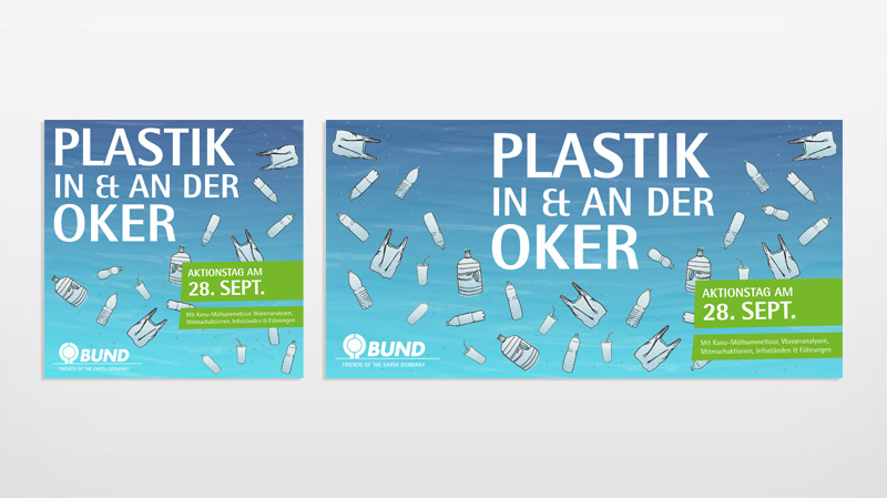Plastik in & an der Oker | BUND Aktionstag