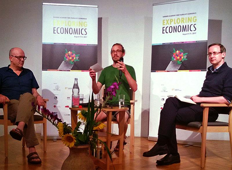 RollUp-Banner SUMMER ACADEMY OF PLURALIST ECONOMICS 2017 | Evangelische Akademie Thüringen