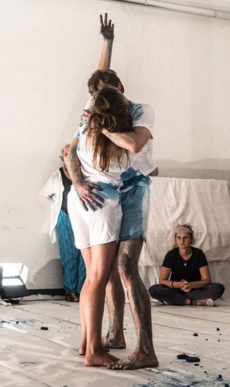 TanzPerformance SCHMELZEN | Künstlerroulette 2018 ©Anna Sellmann