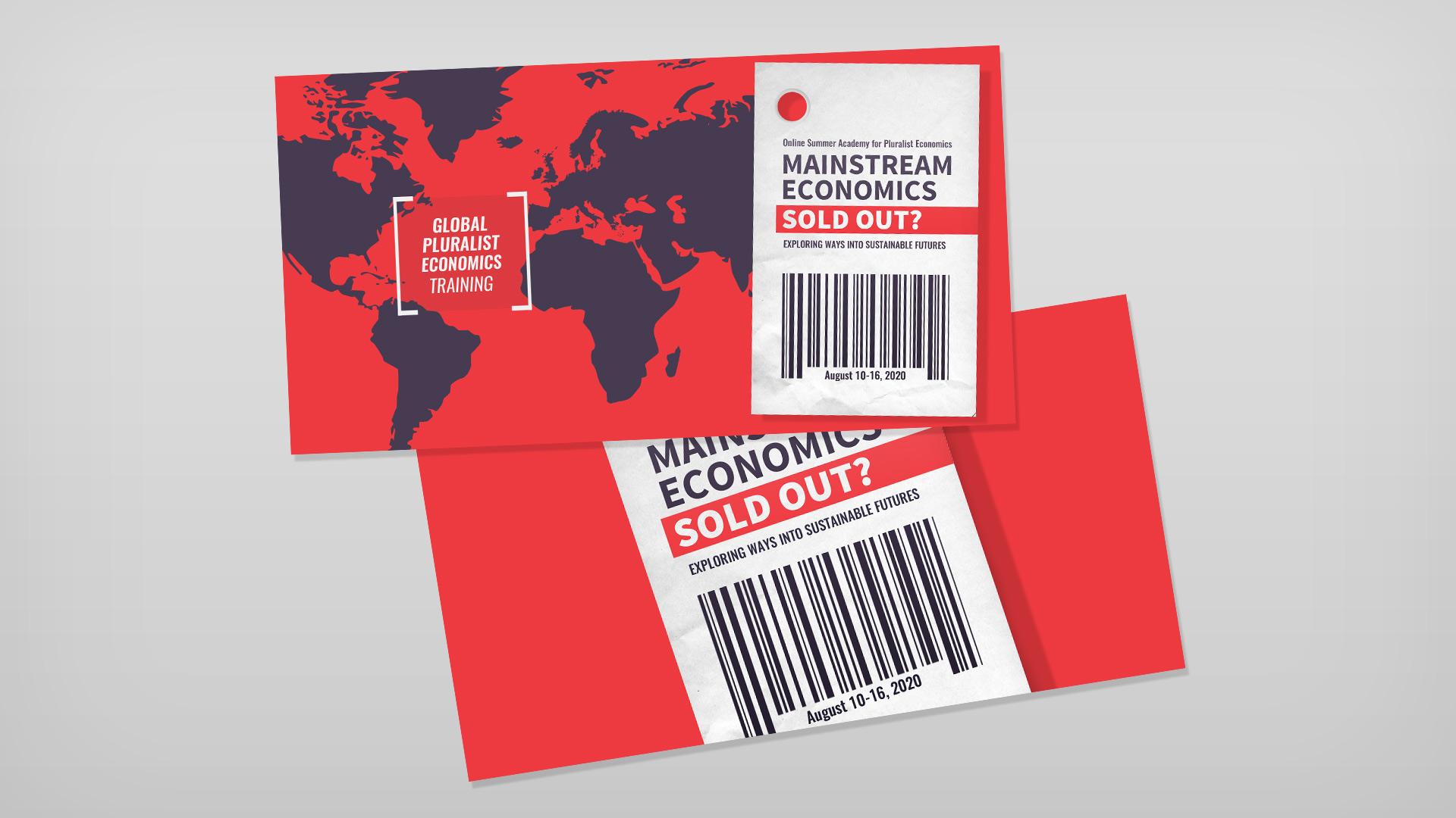 Banner MAINSTREAM ECONOMICS SOLD OUT? | 4. Internationale Sommerakademie für Plurale Ökonomik